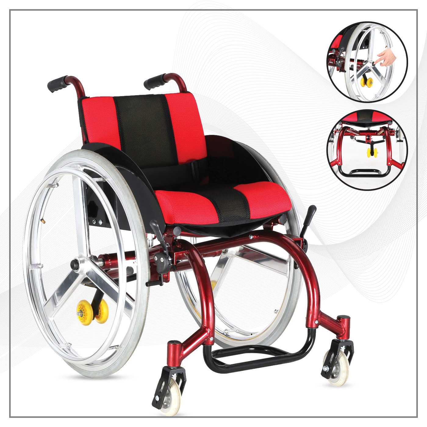 Abc Tıp Sağlık Tekerlekli Sandalye ve Oturaklar AL 30